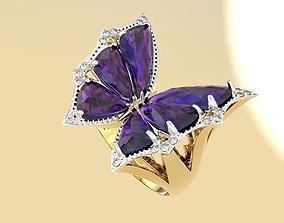 3D model diamond bangle