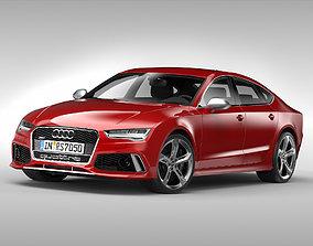 3D Audi RS7 Sportback 2015