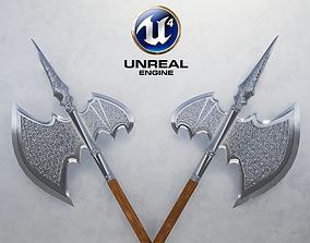 Medieval Halberd 3D model