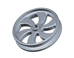 3D print model Classic Alloy Wheel Rim
