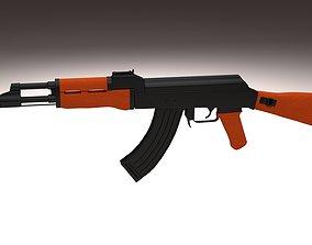 3D model aks AK 47
