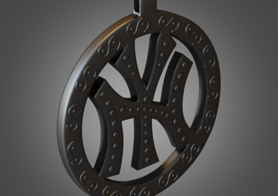 New York Necklace Printable