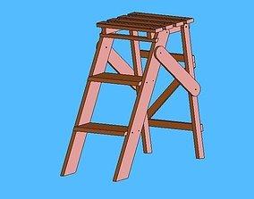 household 3D Step Ladder
