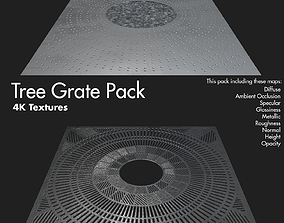 3D model Tree Grate Texture Pack 4K