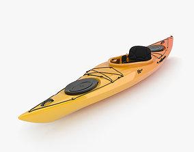 Kayak boat 3D