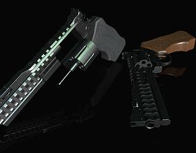 3D model Korth national standard 357 Magnum