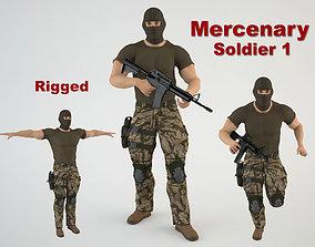 Mercenary Soldier 1 3D