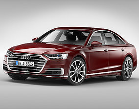 Audi A8 2018 3D germany