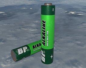 3D asset Battery AAA