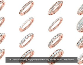 167 Eternity Band solitaire wedding engagement women 1
