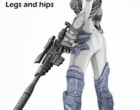 Nova legs from Starcraft HOTS 3D cosplay model lynnfield