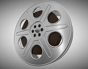 3D model FILM AND REEL