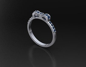3D print model Ring Bow