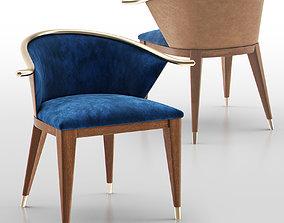 3D Chair 002 - Art Deco