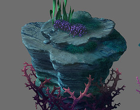 Game Model - Seabed - Coral Tree 2 3D