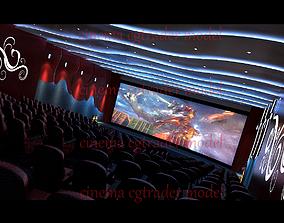 3D model cinema movie