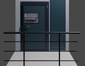3D asset Prison Cell