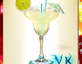 Margarita Cocktail - High Detailed 3D