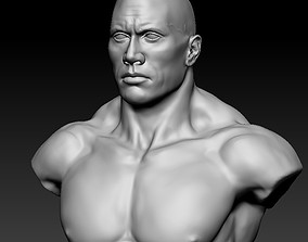 3D model Dwayne The Rock Johnson