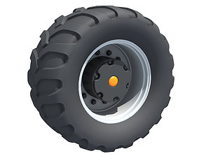 3D model construction Off Road Tyre