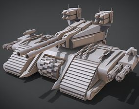 3D printable model Destroyer Tank