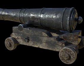 Cannon 3D model PBR