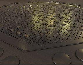 3D model ADE-2 Plutonium Production Reactor