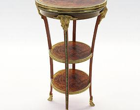 3D Neoclassical salon etagere - France about 1900