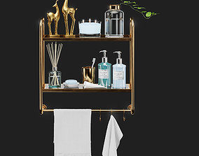 Williams- sonoma-set for bathroom-04 3D model