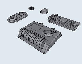 3D print model Misc Star Wars Greeblies