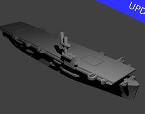 US Bogue Class Aircraft Carrier 3D print model