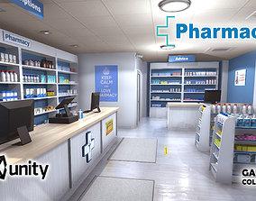 3D model doctor Pharmacy