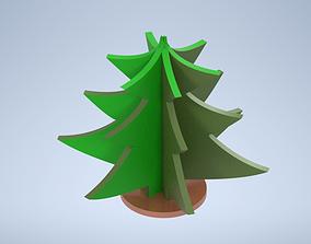 Christmas tree decor 3D model
