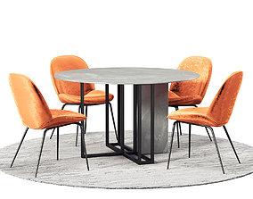 3D Dining Room Set 274