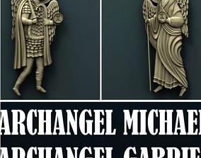 ARCHANGEL GABRIEL AND ARCHANGEL MICHAEL 3D printable model