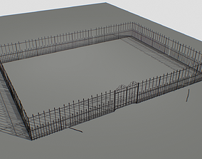 Railing Fence pack 1 3D asset