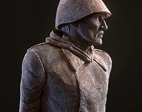 3D asset Soviet Soldier WW2