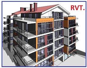 Building Design Apartment High Detail Model Revit