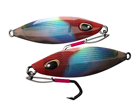 metal Jig 3D model Fishing Lure Low-poly 3D realtime 1