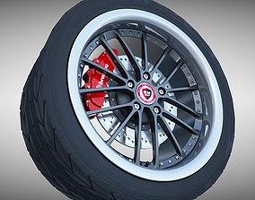 RM Racing Sports Wheel 3D