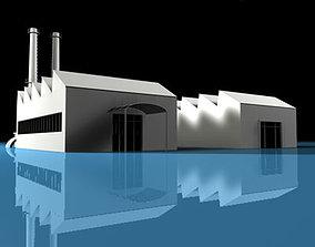 3D model Stilizedcity-factory