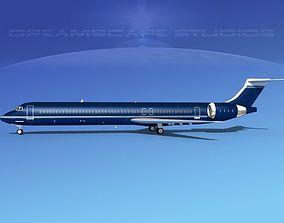 McDonnell Douglas MD83 Corporate 2 3D