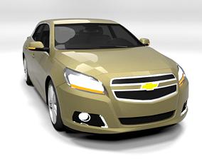 CHEVROLET MALIBU 2012 LOWPOLY 3D model