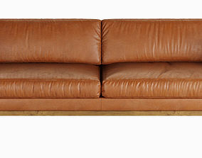 Swedese Madison Leather Sofa 3D