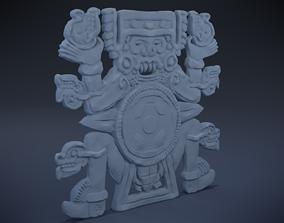 Tlaltecuhtli - Aztec Deity 3D print model