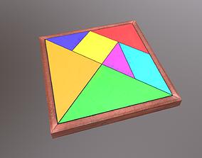 Tangram 3D model realtime