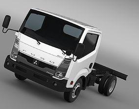 Mitsubishi Fuso Canter Guts Chassi 2017 3D