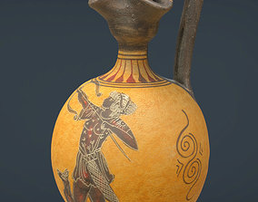 3D model Greek Vase 5
