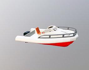 3D model nautical speedboat