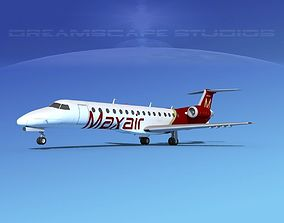 Embraer ERJ-140 Maxair 3D model